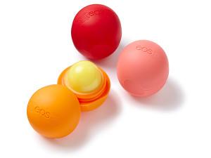 Alguns sabores dos diversos disponíveis do protetor EOS.