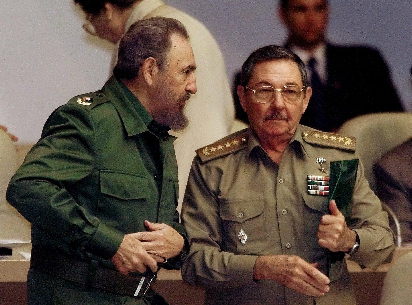 Fidel Castro e Raúl Castro
